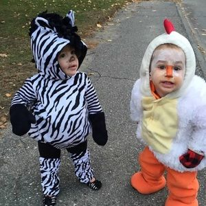 Costumes - 6-12M Zebra Halloween Costume  sc 1 st  Poshmark : cute toddler costumes for boys  - Germanpascual.Com